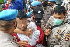 Saat Penyusup Masuk di Barisan Demonstran, Memancing Kerusuhan dan Disebut Polisi Alami Gangguan Jiwa