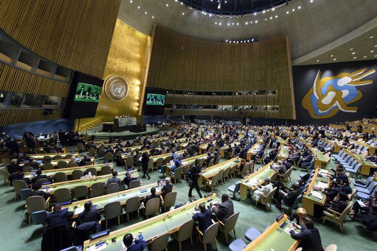 Ruang sidang Majelis Umum PBB.