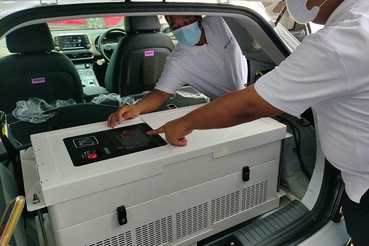 Konverter di mobile charging Hyundai