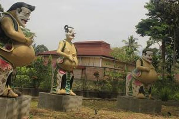 Patung Semar di Narada Art Gallery