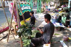 Pedagang Kembang Rawajati Banjir Pesanan di Hari Wafatnya BJ Habibie