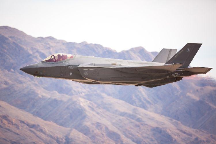 Jet tempur F-35 Lightning II.
