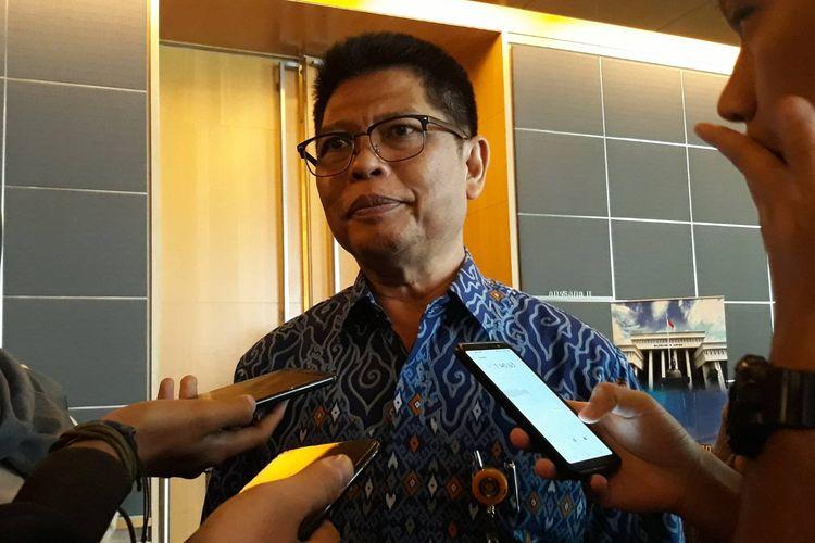 Kepala Biro Hukum dan Humas MA, Abdullah, di Hotel Holiday Inn, Jakarta Pusat, Kamis (1/8/2019).