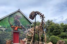 Bigdino Feeding Dinosaurs di Bandung, Bisa Beri Makan Dinosaurus