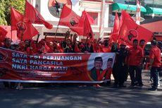 Kader PDI-P Bondowoso Gelar Aksi Damai Protes Pembakaran Bendera