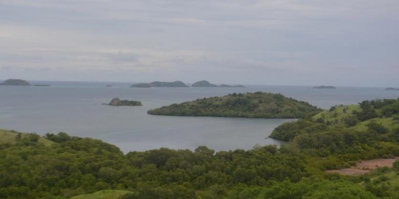 Taman Wisata Alam 17 Pulau Riung di Kecamatan Riung, Kabupaten Ngada, Pulau Flores, Nusa Tenggara Timur.