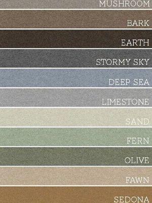 Contoh warna earth color.