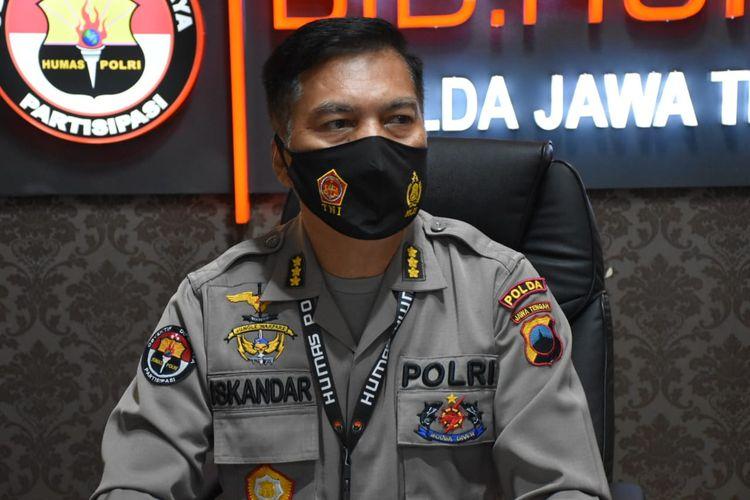 Kabid Humas Polda Jawa Tengah Kombes Pol Iskandar F Sutisna