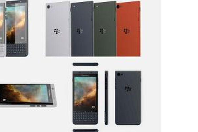 BlackBerry Vienna, produk yang diduga sebagai smartphone Android kedua BlackBerry