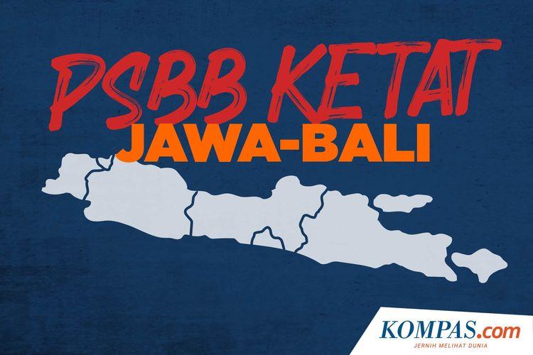 PSBB Ketat Jawa-Bali