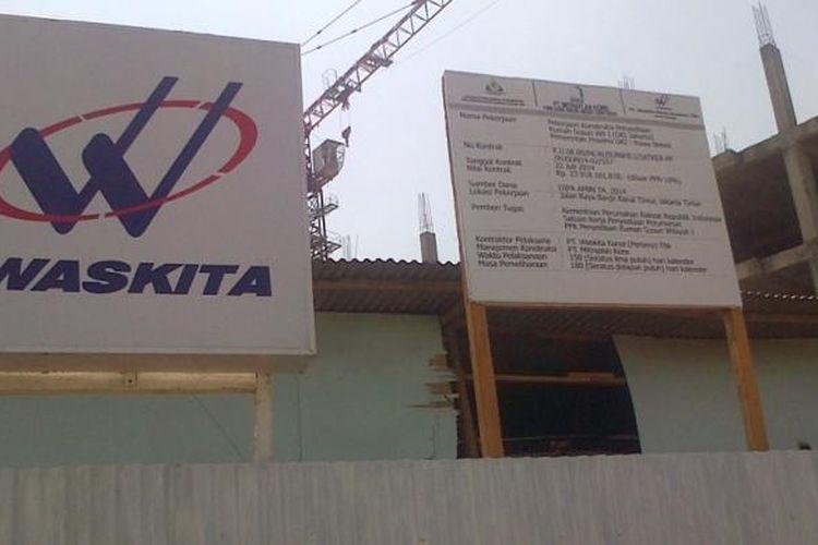 Ilustrasi: Kontraktor BUMN PT Waskita Karya (Persero) Tbk.