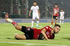 Soal Masa Depan Spaso, Agen dan Kapten Bali United Beda Jawaban