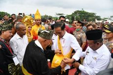 Jokowi Datang, Peremajaan Sawit Rakyat di Riau Dimulai