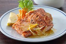 Resep Salmon Steak Saus Lemon, Masak ala Restoran Mewah di Rumah