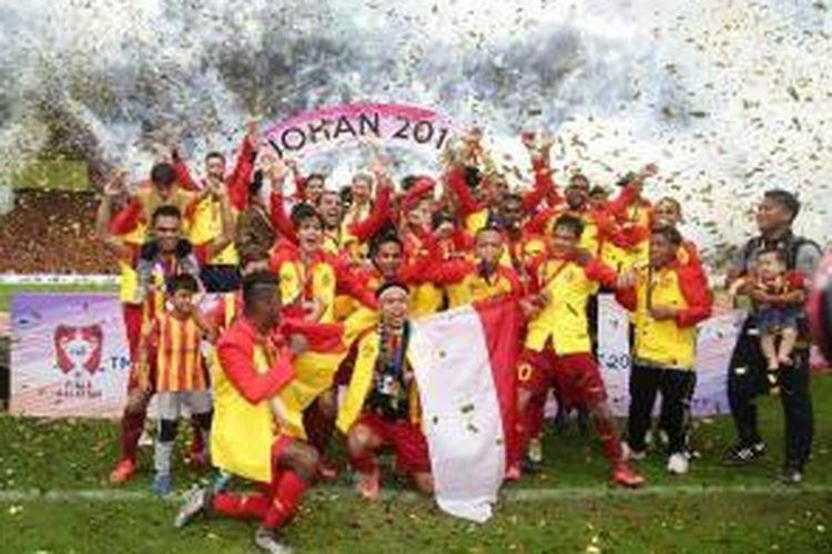 Andik Vermansah mengantarkan Selangor FA menjuarai Piala Malaysia 2015, Sabtu (12/12/2015).
