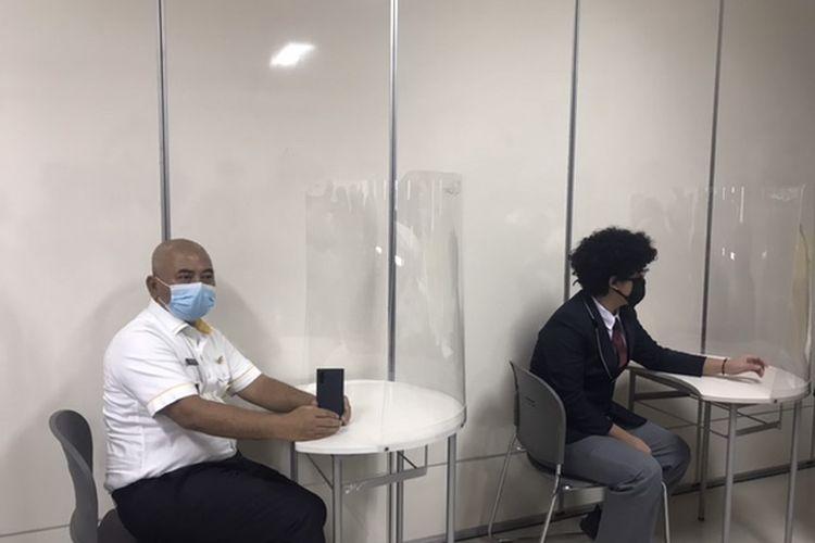 Wali Kota Bekasi Rahmat Effendi cek kesiapan Sekolah Victory, Kemang Pratama, Bekasi Timur Terapkan Protokol Kesehatan, Selasa (7/7/2020).