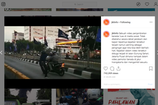Viral Video Jambret Mobil Kabur Lewat Busway, Polisi Minta Korban Melapor