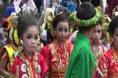 Usung Keberagaman, Peserta Karnaval Polman Tampilkan Budaya Nusantara