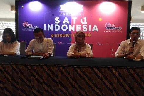 Gelar Festival Satu Indonesia, Eks Teman Ahok Ajak Anak Muda Tak Apatis dengan Politik