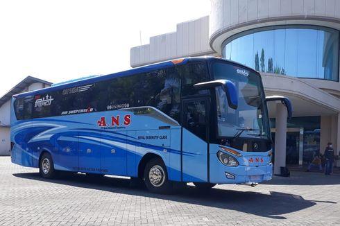 Bus Baru PO ANS, Single Glass Gaya Eropa