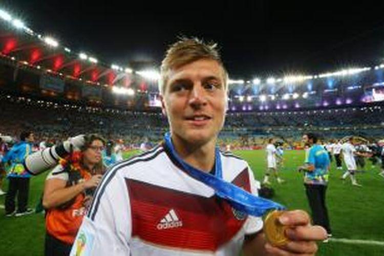 Gelandang Jerman, Toni Kroos.