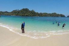 Wisata Pantai Tiga Warna Malang, Snorkeling Lihat Indahnya Terumbu Karang
