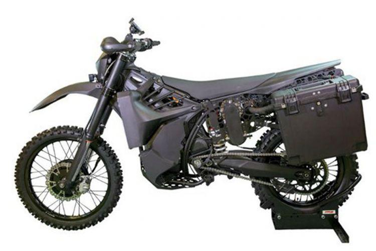 Sepeda motor hybrid SilentHawk.