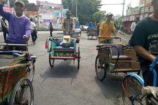 Sopir Angkutan Konvensional di Pekalongan Demo,  Jalur Pantura Macet