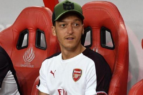 Tak Main di Laga Arsenal Vs Standard Liege, Oezil Ditantang Unai Emery
