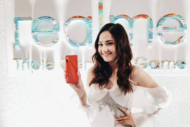 Realme C3 resmi dirilis di Indonesia.