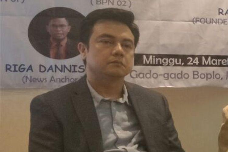 Kepala Pusat Penelitian Politik LIPI Firman Noor.