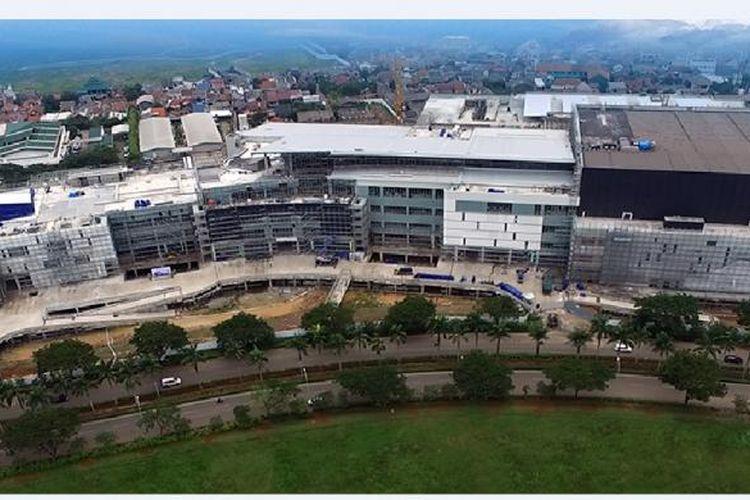 Pembangunan Aeon Mall di komplek Jakarta Garden City, Cakung, Jakarta Timur, sudah memasuki tahap akhir dengan target operasional pada Oktober 2017 mendatang.