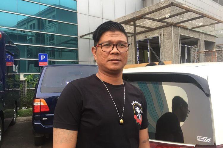 Andika eks Kangen Band di kawasan Mampang, Jakarta Selatan, Rabu (30/10/2019).