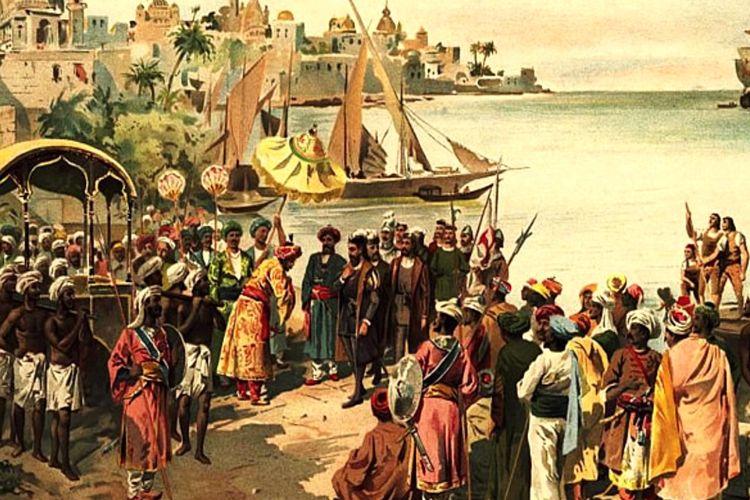 Ilustrasi masuknya Islam ke Indonesia
