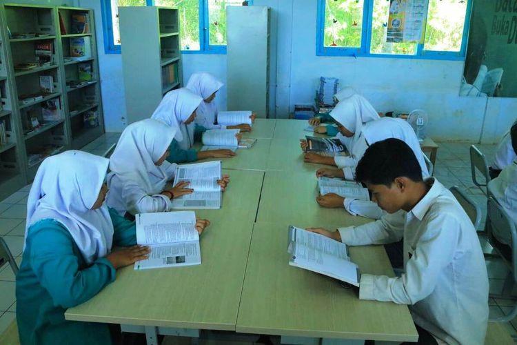 Proses belajar dan kegiatan siswa SMKN 3 Bengkulu Tengah