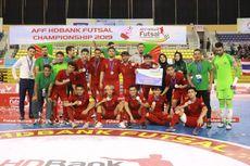 Timnas Futsal Diminta Belajar dari Kesalahan pada Laga Final Piala AFF