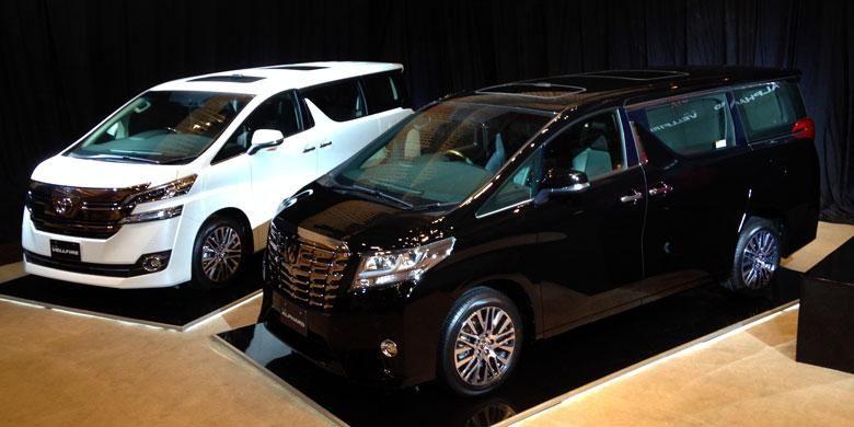 Dua MPV premium terbaru dari Toyota mulai dipasarkan.