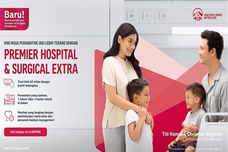 AIA Indonesia meluncurkan program PHS EXTRA untuk mendukung jaminan kesehatan keluarga Indonesia. (DOK. AIA)
