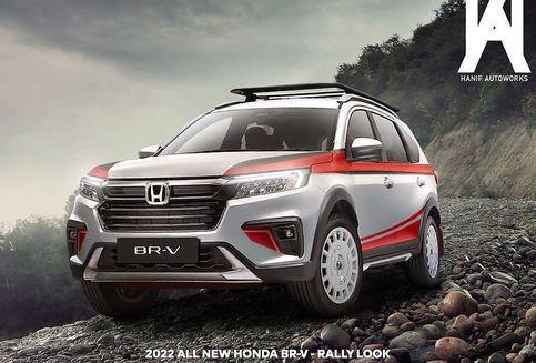Baru Meluncur, BR-V Baru Langsung Dipermak Rally Look