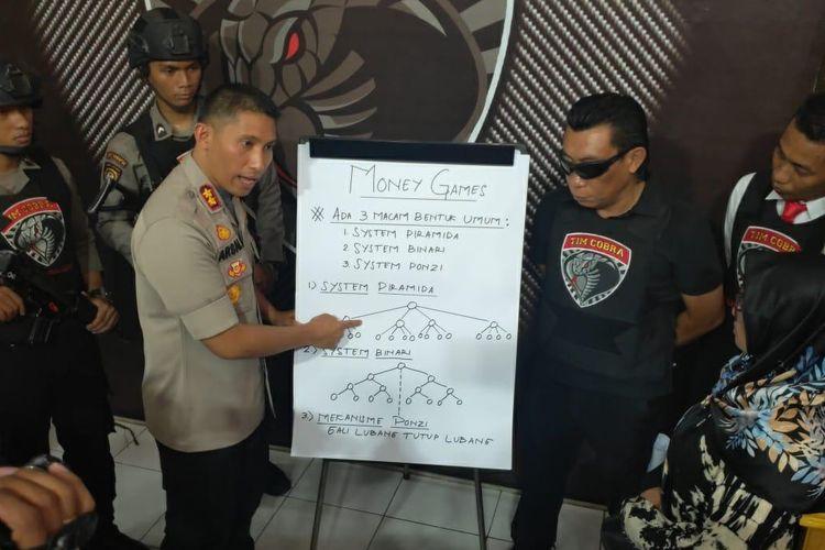 Kepolisian Lumajang menjelaskan sistem kerja Q-Net