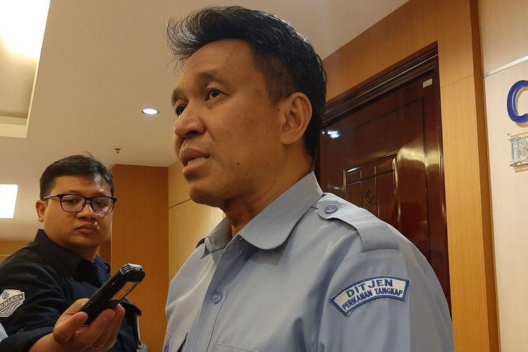 Dirjen Pengolalaan Ruang Laut, KKP, Aryo Hanggono saat ditemui disela sosialisasi nasional program pengembangan usaha garam rakyat di Semarang, Kamis (30/01/2020) malam.