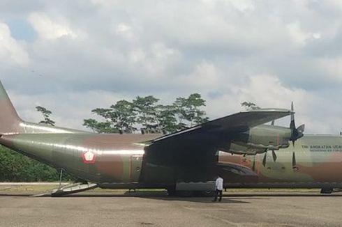 Sempat Mendarat Darurat di Aceh Utara, Pesawat Hercules TNI Dinyatakan Laik Terbang