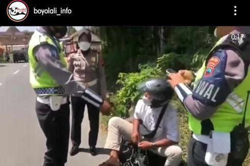 Mau ke Obyek Wisata, tapi Diminta Putar Balik oleh Polisi, Pemuda Ini Marah-marah