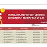 Daftar Lengkap 107 Pinjol Terdaftar dan Berizin di OJK