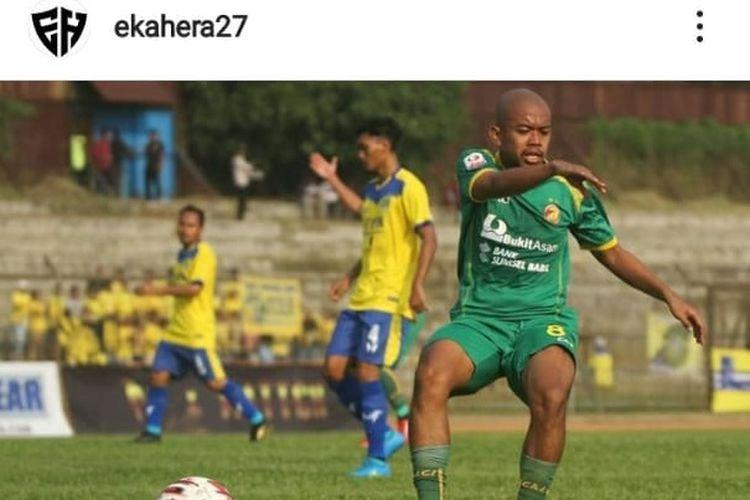 Mantan pemain Sriwijaya FC, Yoga Eka Firmansyah Hera.