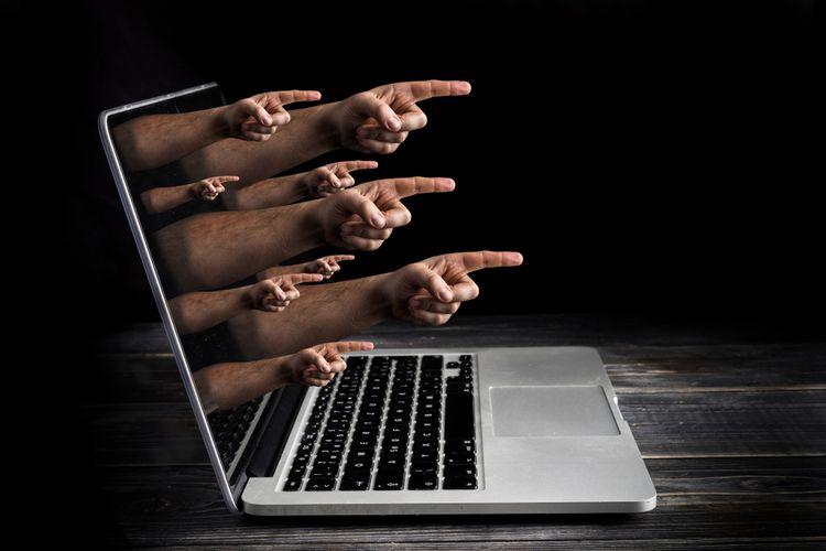 Ilustrasi dunia maya