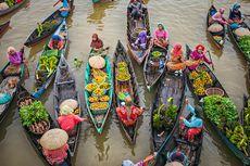 Itinerary Wisata 3 Hari 2 Malam Banjarmasin, Belanja di Pasar Apung