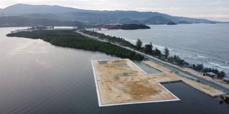 Venue olahraga dayung pada Pekan Olahraga Nasional (PON) yang lokasinya tak jauh dari hutan bakau