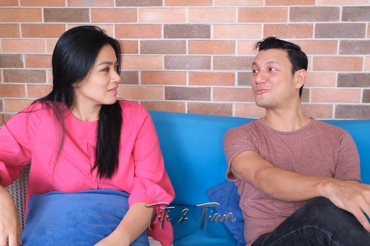 Christian Sugiono membujuk Titi Kamal berlibur selama sebulan