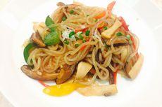 Resep Mi Shirataki Tumis Jamur, Makanan Diet Praktis